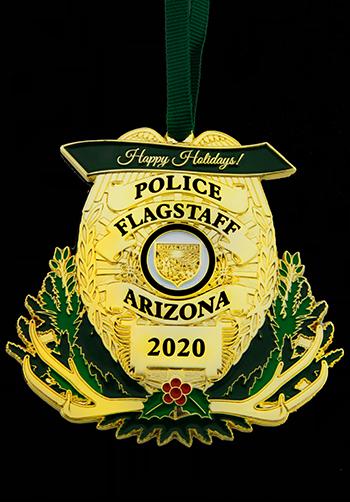 Police Custom Christmas Ornament