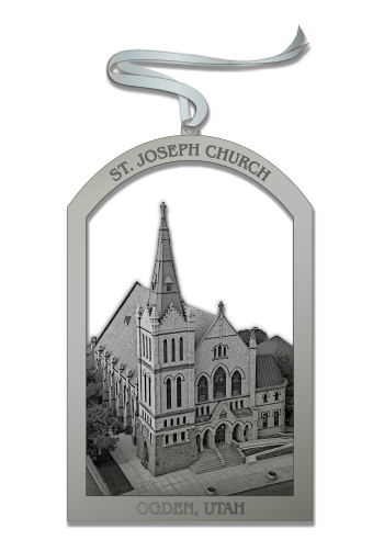 St. Joseph Church Ornament