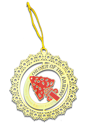 Laser cut Custom Christmas Ornament