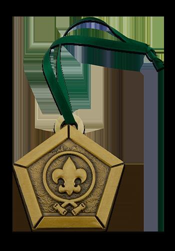 3D Gold Custom Christmas Ornament