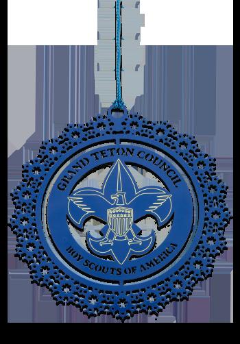 Blue Laser cut Custom Christmas Ornament
