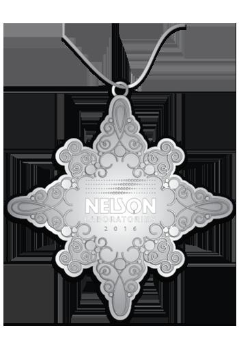 Laser Cut Snowflake Custom Christmas Ornament